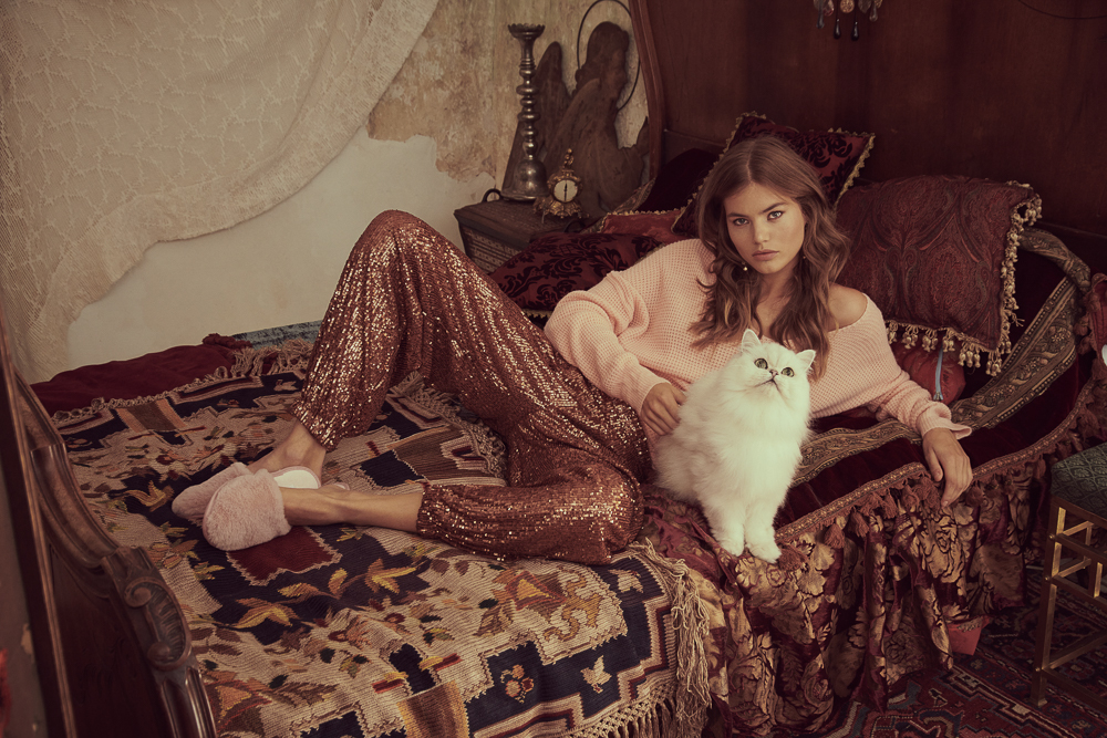 Myrthe Bolt Poses for Free People